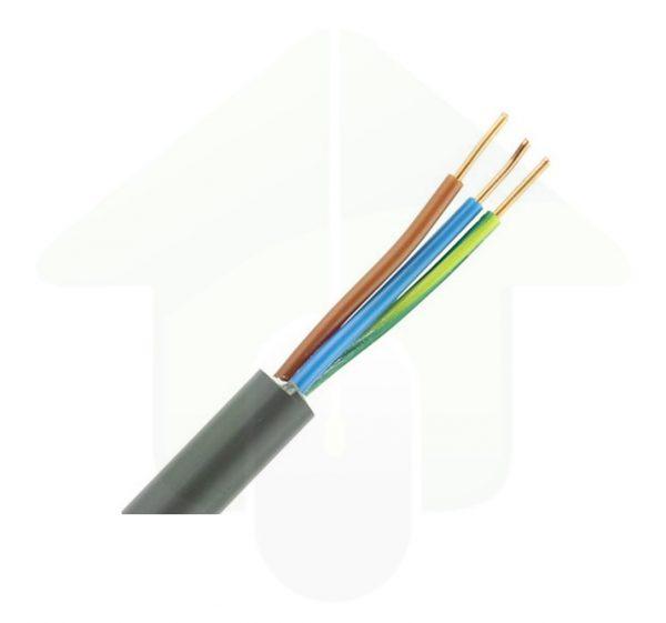 YMVK installatiekabel – 3x1,5 mm² – grijs
