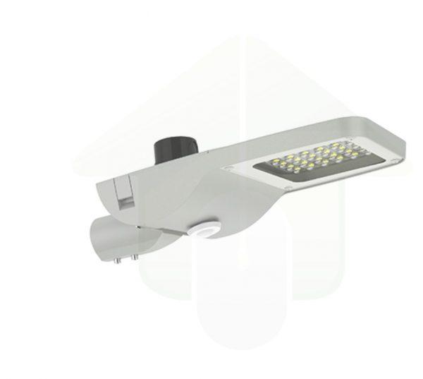 Sensor gestuurd straatverlichting armatuur
