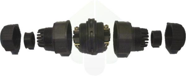 IP68 vaste kabelverbinding