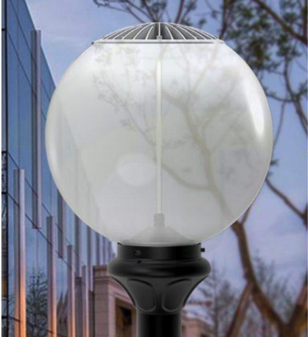 led bolarmatuur parkverlichting