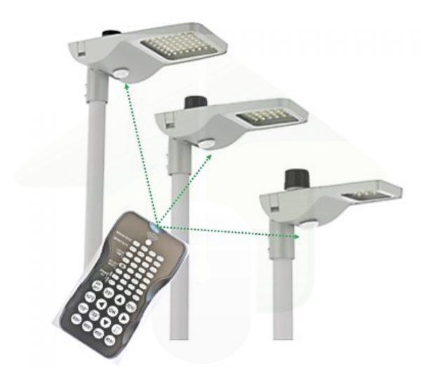 Antaris I-light LED Straatverlichting met instelbare daglichtsensor en bewegingssensor