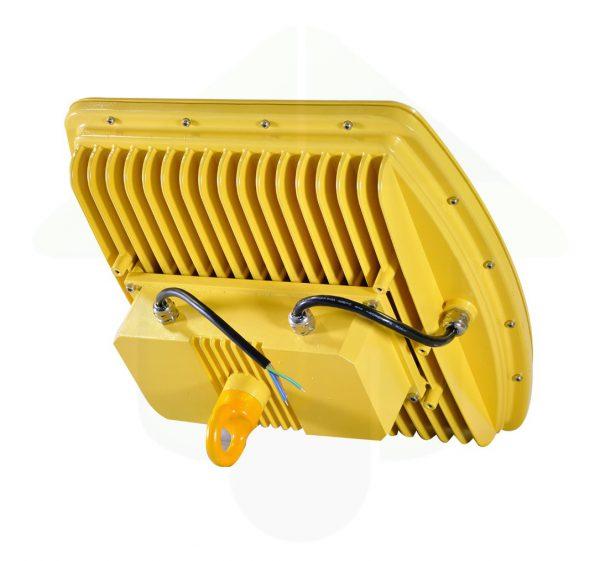 ATEX led verstaler met ophangoog - geel