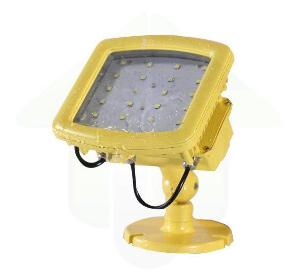 ATEX led verstraler IP66 - 40 Watt - geel