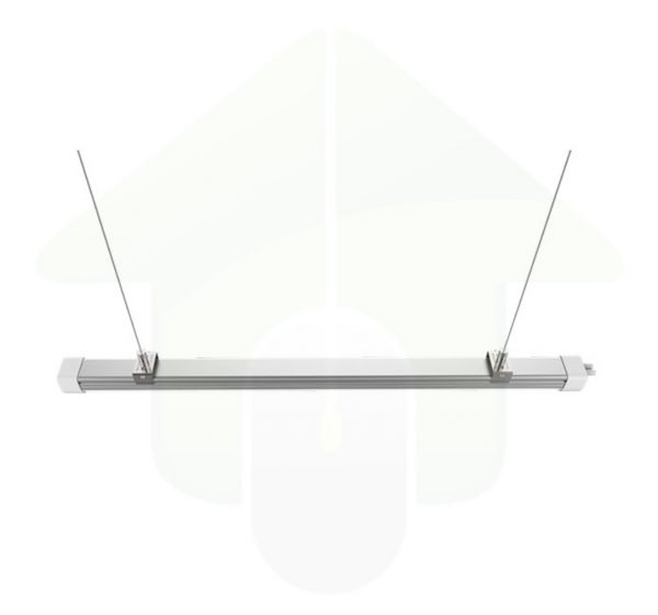 Lumestra Easy Connect led lichtlijn armatuur met RVS verstelbare ophangkabel
