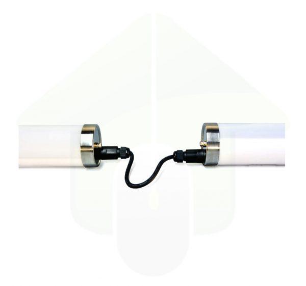 Lumestra Tri-proof IP69K-IK10 High Resistance LED - Waterdichte kabelverbinding - voor het doorverbinden van een voedingskabel tussen de armaturen