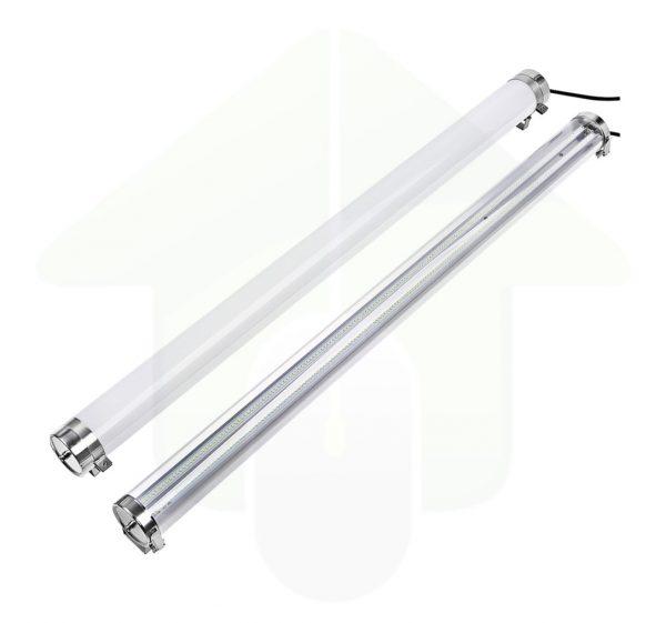 Lumestra Tri-proof IP69K-IK10 High Resistance LED - led verlichting bestand tegen water onder druk - zout water - ammoniak - chemische middelen