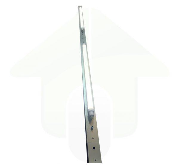 Lumestra Tri-proof Plus IP65 1&3 Fase LED - gemonteerd op het SLIM lichtlijnsysteem voor led verlichting