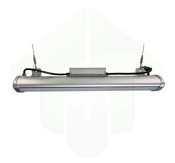 Sani-Bay IP65 HACCP linear led high bay - 180⁰ lichtspreiding - led bedrijfsverlichting