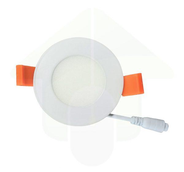 Situla LED Downlight IP44 - led verlichting om halogeen spots te vervangen - 3W - 7 cm zaagmaat diameter