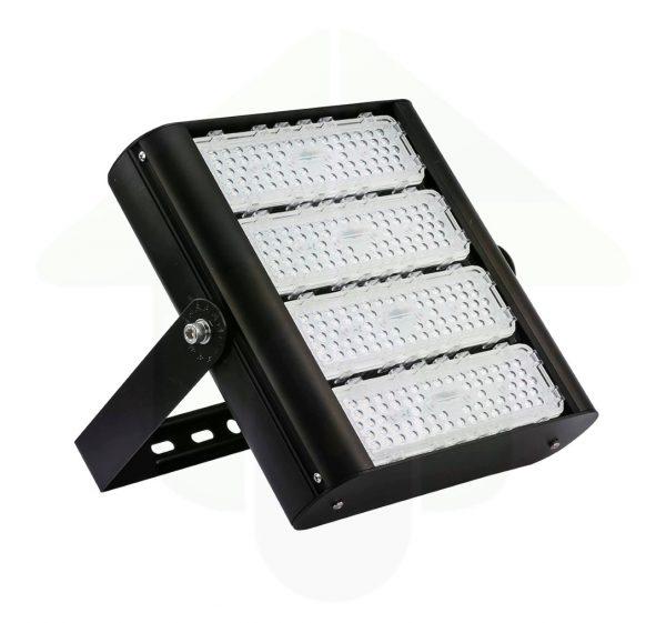 Tetra-XS LED Schijnwerper & High Bay - 160 Watt 200 Watt of 240 Watt in de kleur zwart - als led terrein verlichting en verlichting voor warehouses