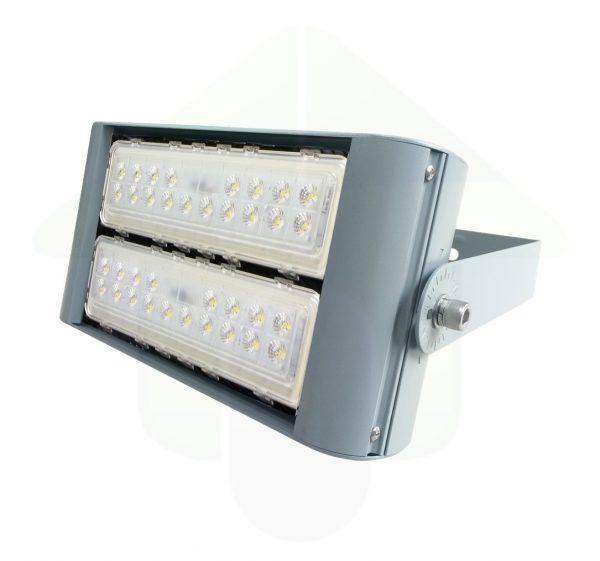 Tetra-XS LED Schijnwerper & High Bay - 80 Watt 100 Watt of 120 Watt met twee led modules - Gevelverlichting, mastverlichting, scheepvaartverlichting