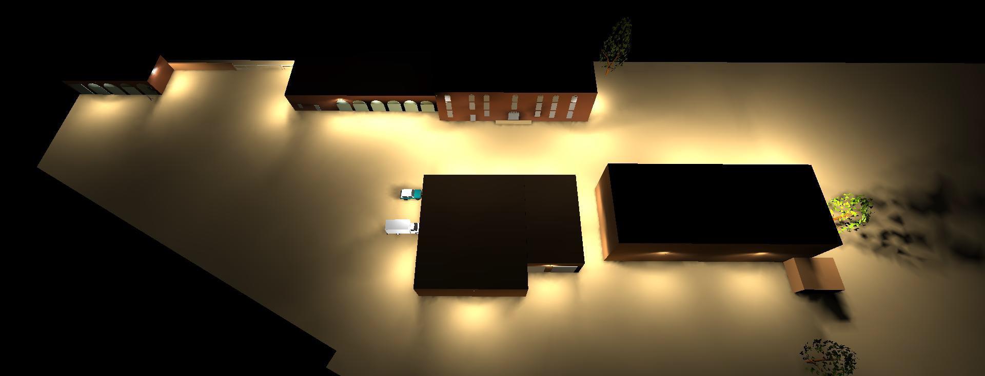 Professioneel lichtplan