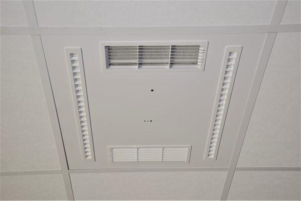 UVC luchtdesinfectie luchtreiniging kantoren kantoor