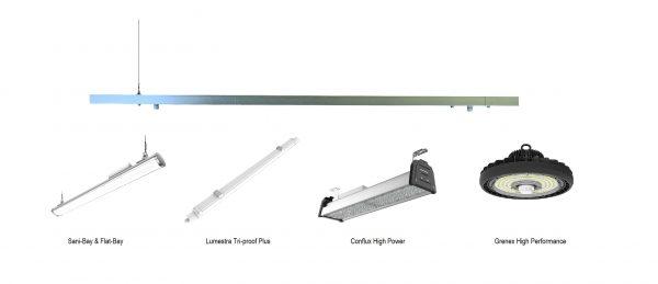 Universele led lichtlijn voor diverse led armaturen