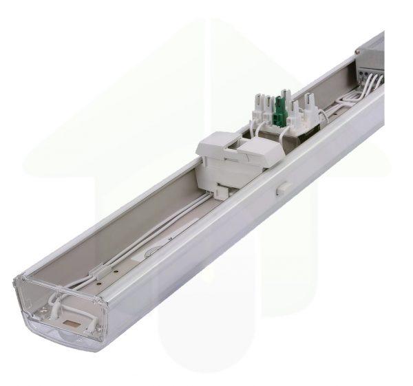 ConPhact 3570 led lichtlijn led armatuur is inclusief klik-in snel-bevestiging