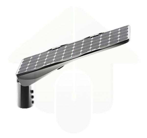 Solarics solar led straatarmatuur voor lantaarnpaal verlichting met zonnepaneel