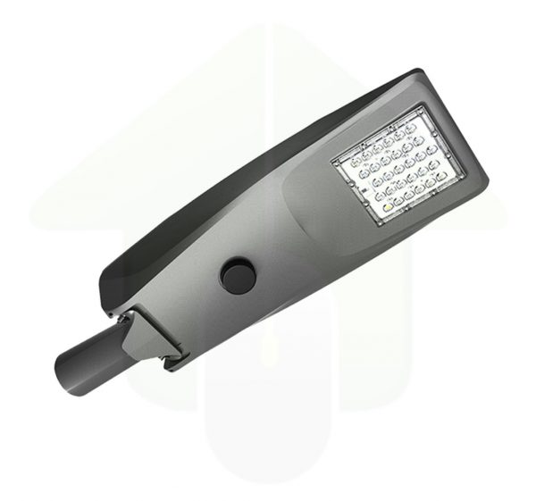 Solar led buitenlamp met zonnepaneel met led verlichting in de kleur grijs